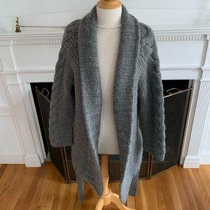 CLUB MONACO heavy warm thick alpaca sweater coat